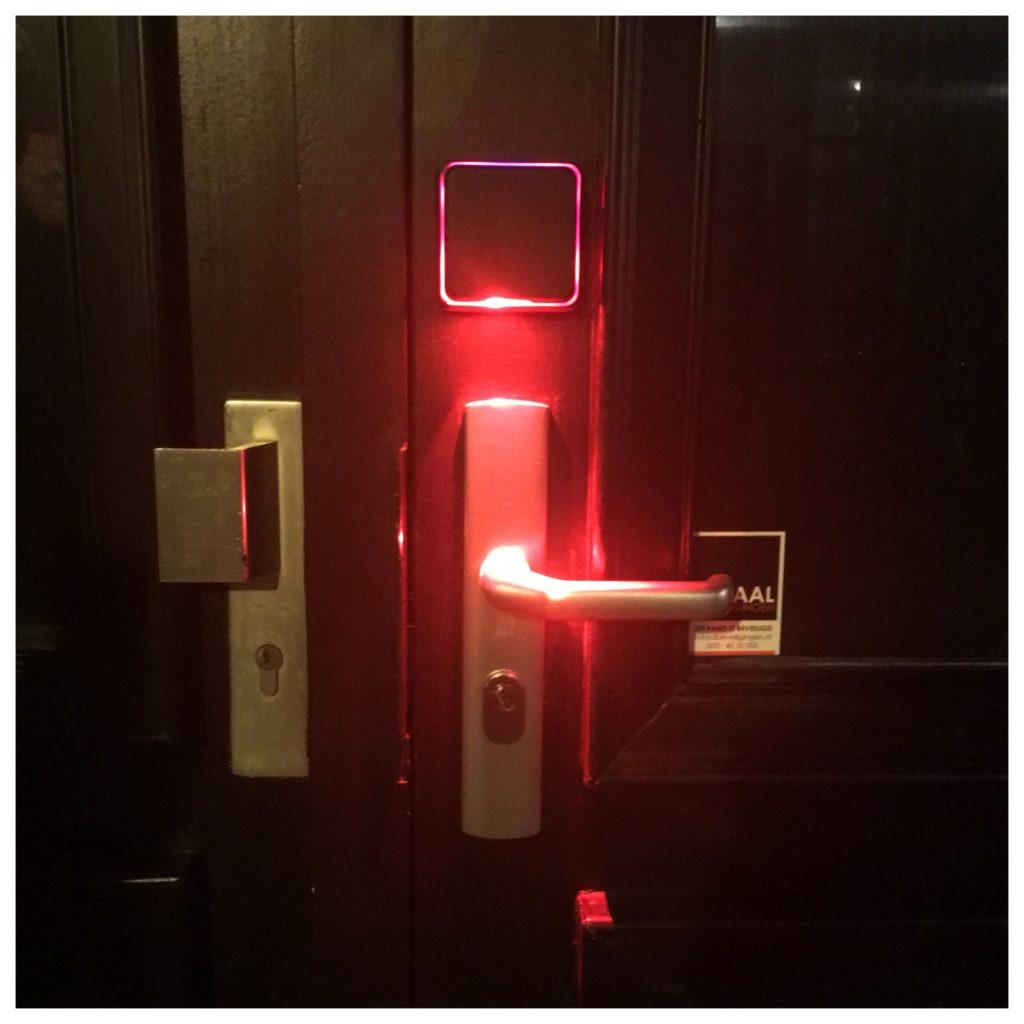 Bij Graphite gaat de deur open met een QR-code