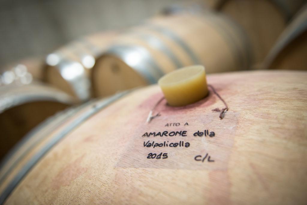 Amarone in houten vat