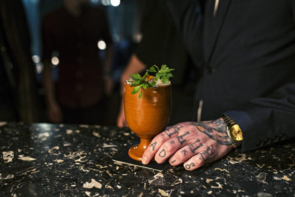 cocktail bij House Bar Amsterdam