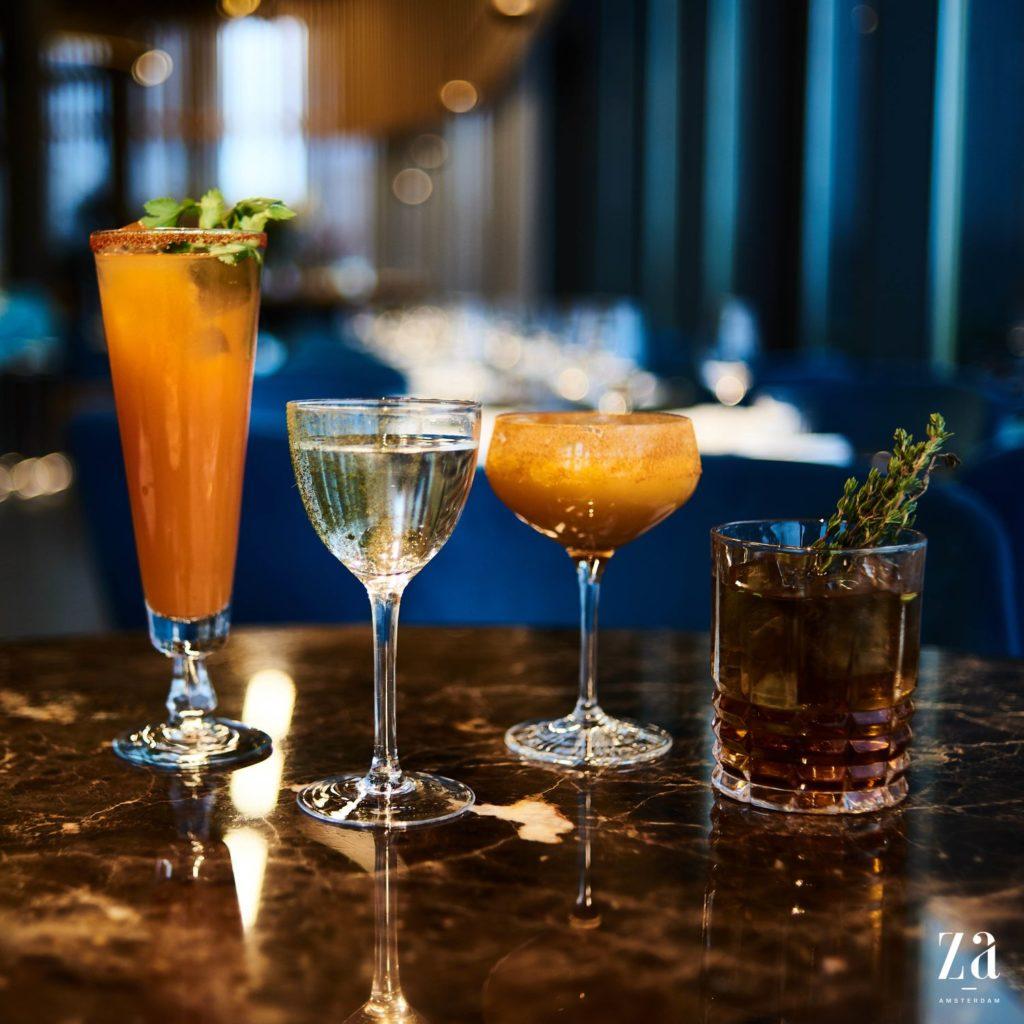 Dry January cocktail bij ZA Amsterdam