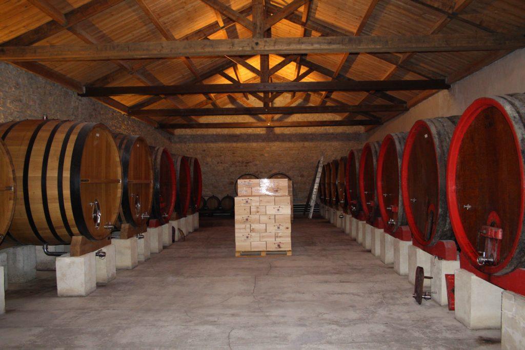 De vatenkelder van Clos des Papes