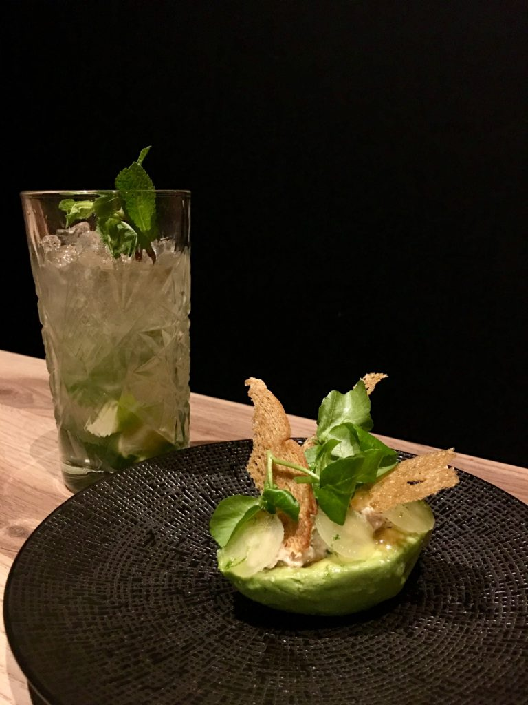 Mojito met avocado