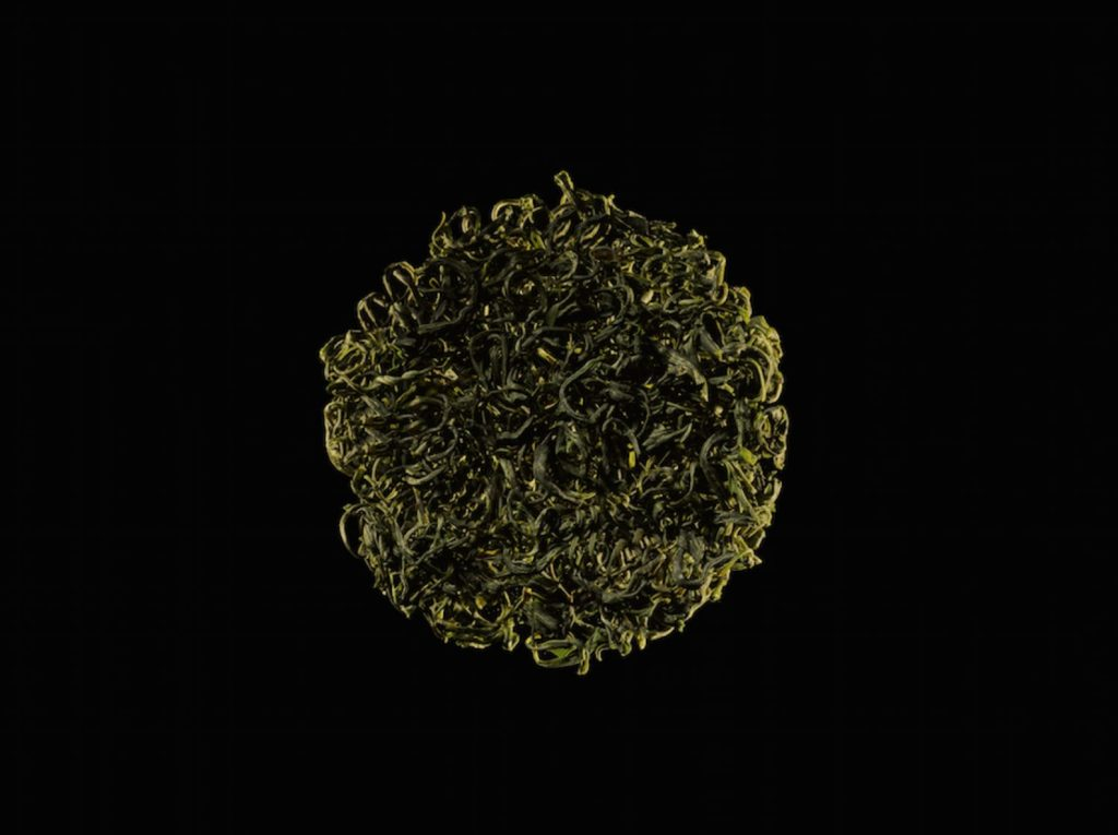 Wuyi green tea van Blacktail